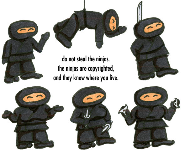 Naomi's Ninjas by Amy Crook
