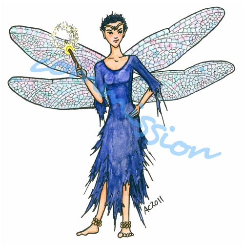 Ms D for Angel Sullivan, by Amy Crook