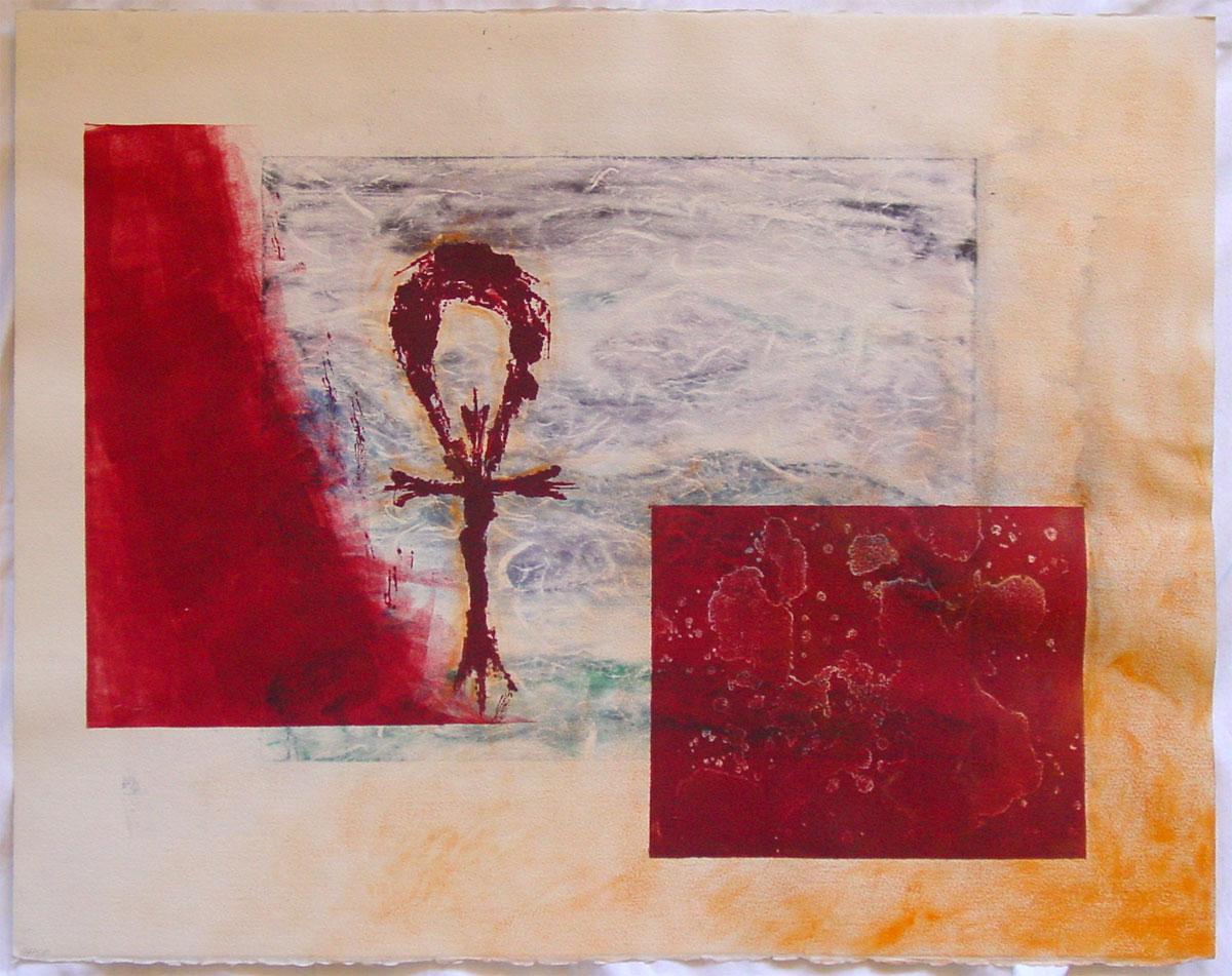 Crux Ansata « Antemortem Arts   Fine Art & Custom Paintings