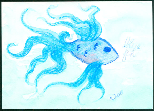 Blue Fish by Amy Crook