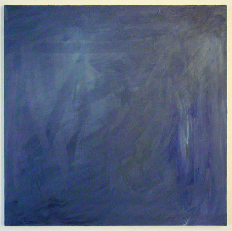 Blue Square by Amy Crook