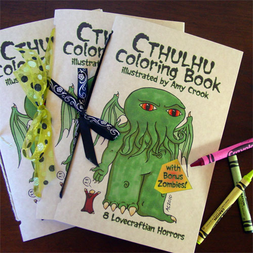 Cthulhu Coloring Book by Amy Crook