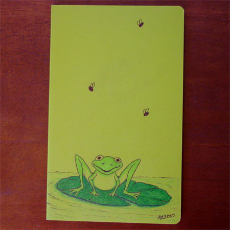 Happy Frog Volant by Amy Crook