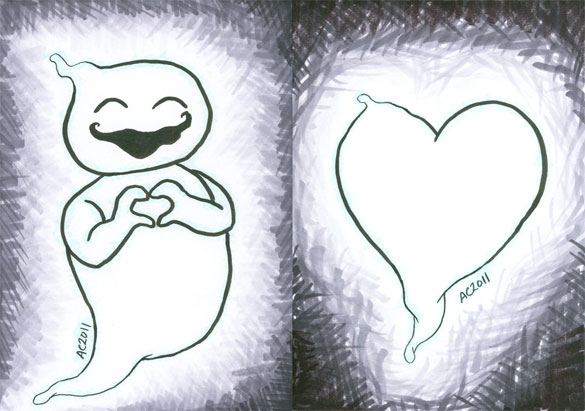 Ghost + Heart by Amy Crook