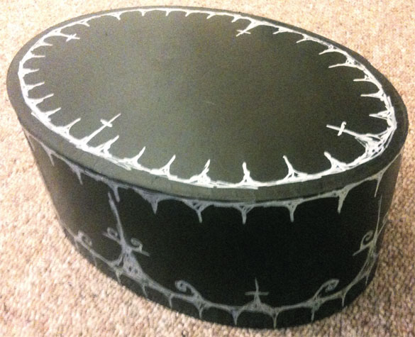 Goth Hatbox by Amy Crook