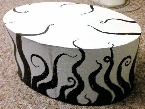 Tentacle Hatbox by Amy Crook