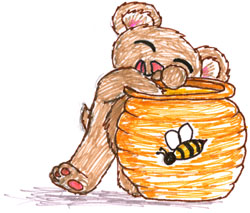 Honey Bear by Amy Crook