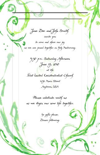Wedding Invitations by Amy Crook