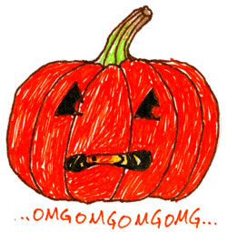 Scaredy Pumpkin by Amy Crook