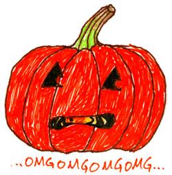 Scaredy Pumpkin by Amy Crook
