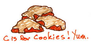 Punkin Cookies by Amy Crook