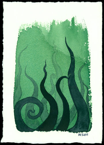 Tentacle Deeps 7 by Amy Crook