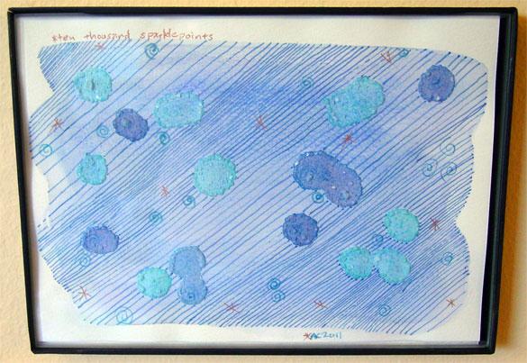 Ten Thousand Sparklepoints, art by Amy Crook