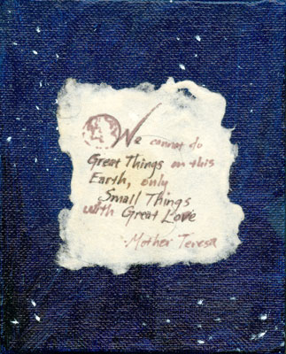 Small Things, Great Love by Amy Crook