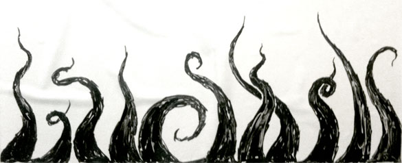 Whiteboard Tentacles by Amy Crook