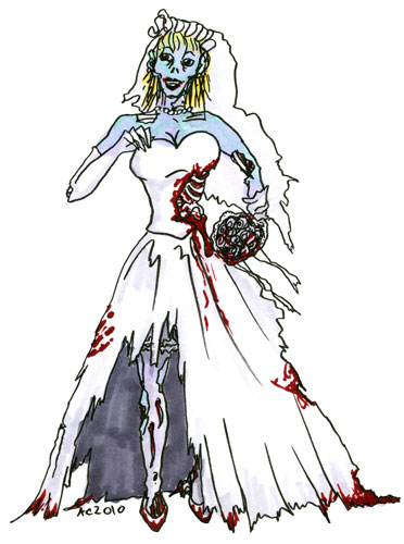 Zombie Bride by Amy Crook