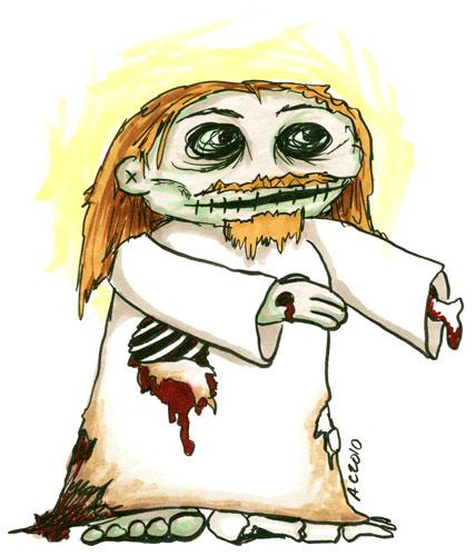 Zombie Jesus by Amy Crook