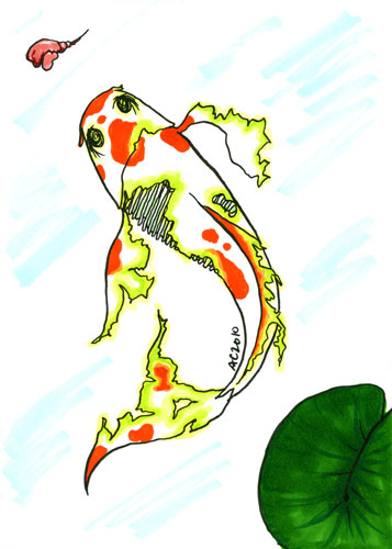 Zombie Koi by Amy Crook
