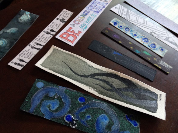 Bookmarks by Amy Crook