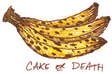 Bananas, Cake or Death by Amy Crook