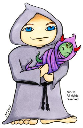 Nefarious Parent cartoon by Amy Crook