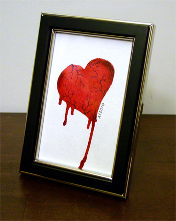 My Heart Bleeds by Amy Crook