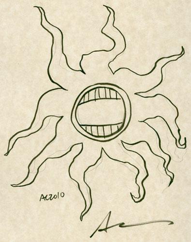 Creepy Sea Life sketch by Amy Crook