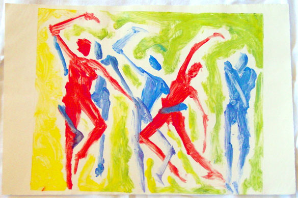 Dancers by Amy Crook