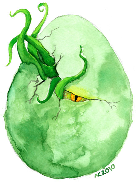 Cthulhu Egg by Amy Crook