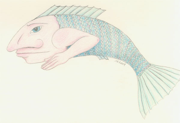 Fish Man by Amy Crook
