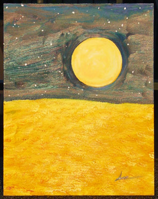 Harvest Moon by Amy Crook