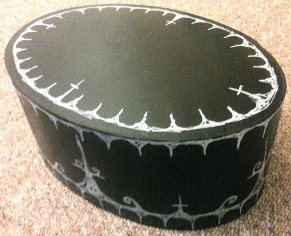 Goth Hatbox by Amy Crook