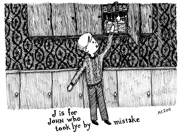 J is for John by Amy Crook