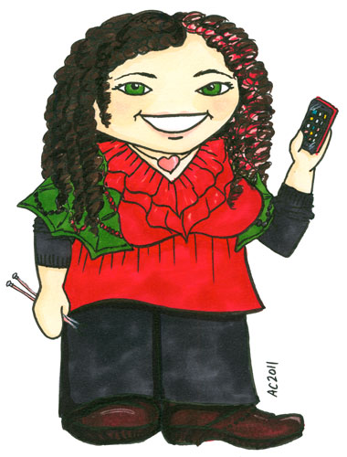 Kristine Beeson Cartoon by Amy Crook