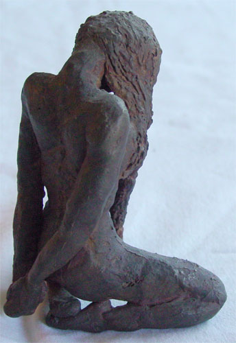 Submission, back view, by Amy Crook