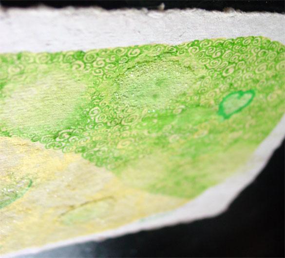 Lemon Heart, detail, by Amy Crook