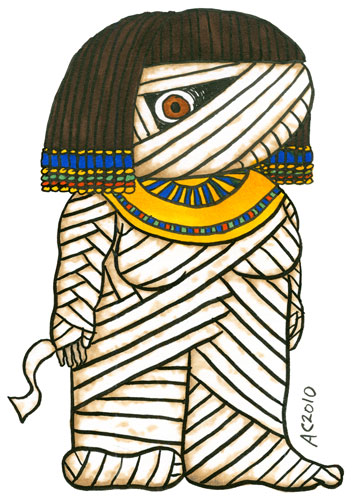 Bride of the Mummy by Amy Crook