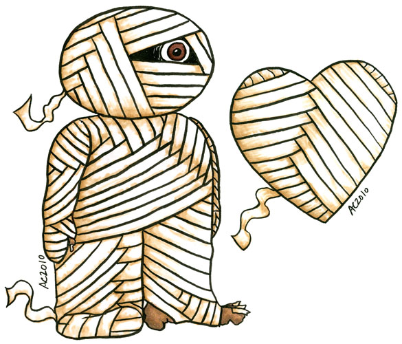 The Mummy + Heart by Amy Crook