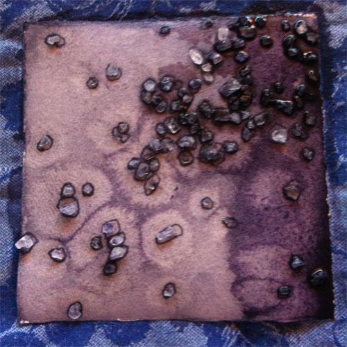 Salt Cell 2, progress 5, by Amy Crook