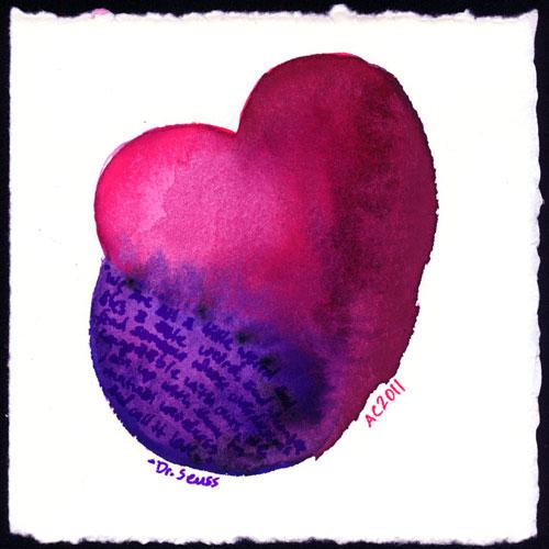 Seuss Heart by Amy Crook