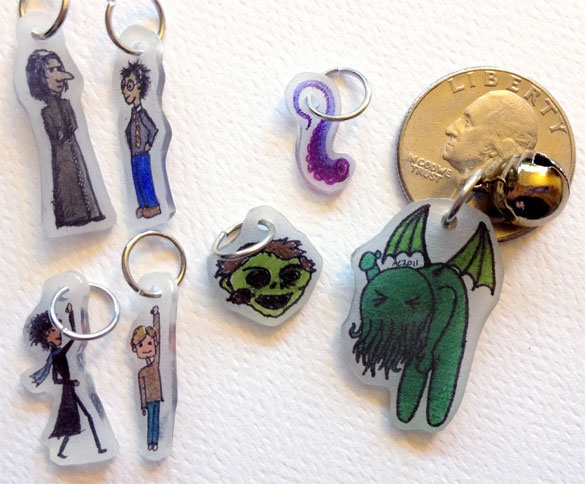 An Assortment of Fine Shrinky Dinks Available for Supporter Rewards