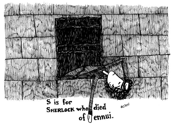 S is for Sherlock by Amy Crook