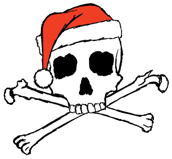 Jolly Santa by Amy Crook
