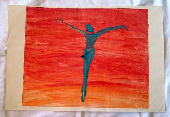 Spirit Crucifix by Amy Crook