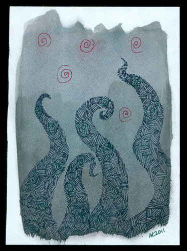 Tentacle Deeps 4 by Amy Crook