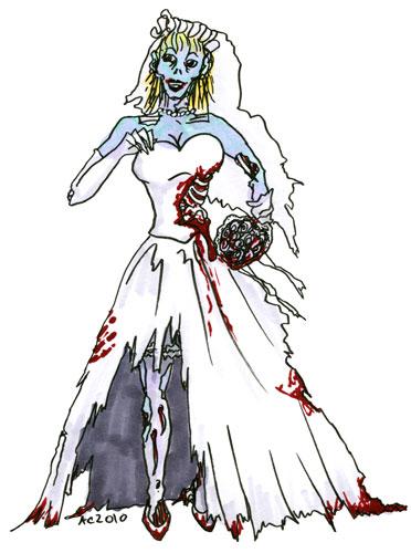 Zombie Bride by Amy Crook