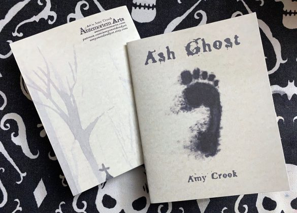 Ash Ghost zine by Amy Crook