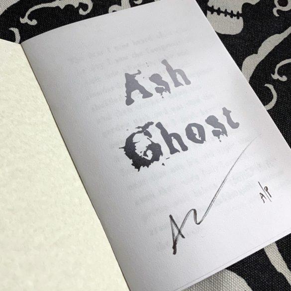 Ash Ghost zine, a/p copy, by Amy Crook
